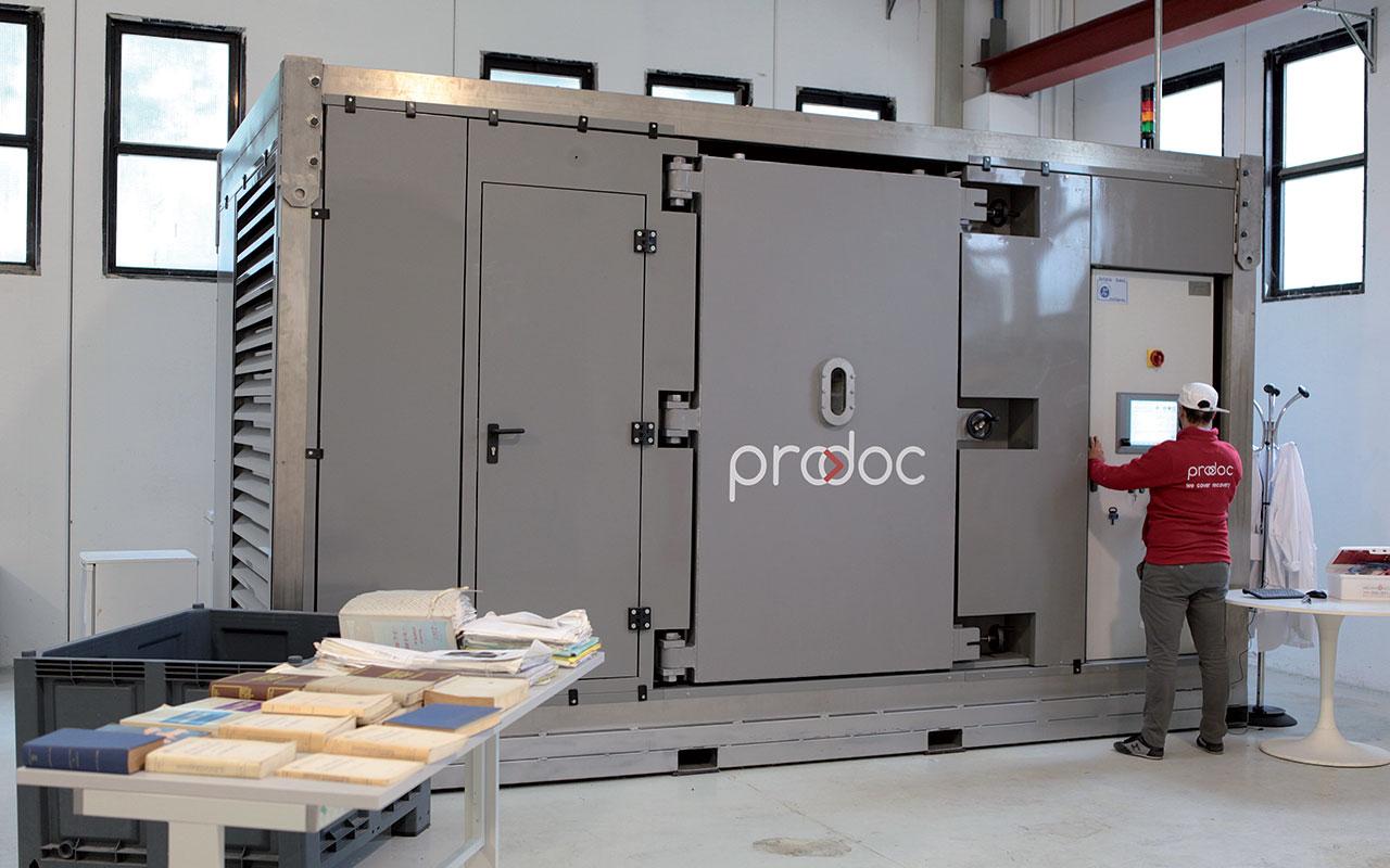 Prodoc | Recupero archivi cartacei e digitali